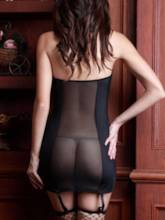 Tight Wrap See-Through Office Ladies Costume