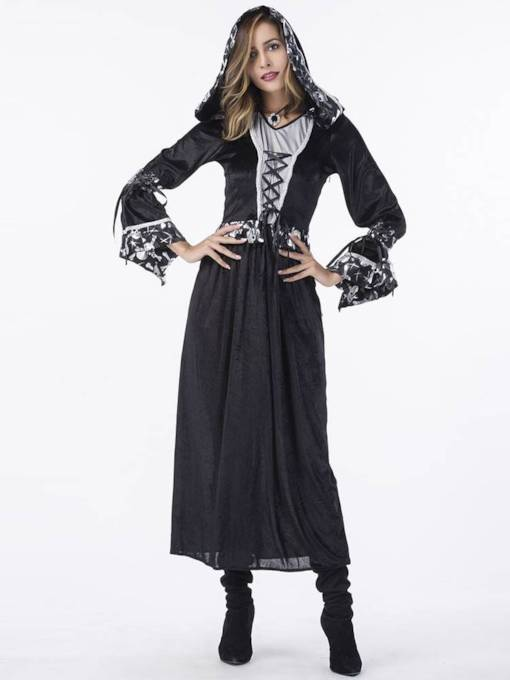 Western Long Sleeve Witch Halloween Costume