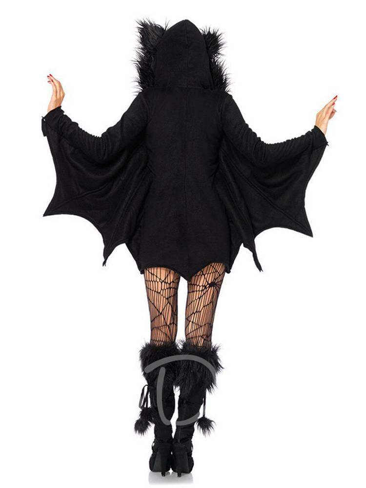 Zipper Bat Evil Vampire Halloween Costume