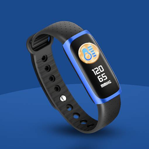 Smart Watch Color Screen Sport Watch Running Heart Rate Step for iPhone Android Phones