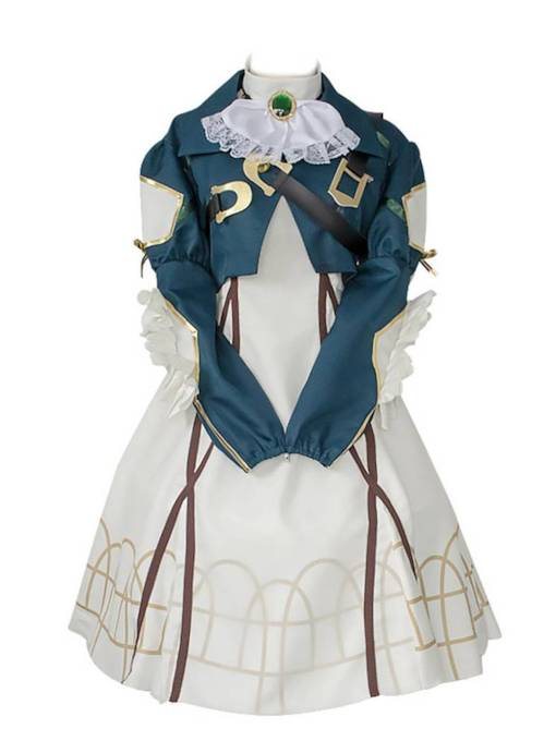 Japanese Anime Costume Violet Eternal Garden Cosplay Dress