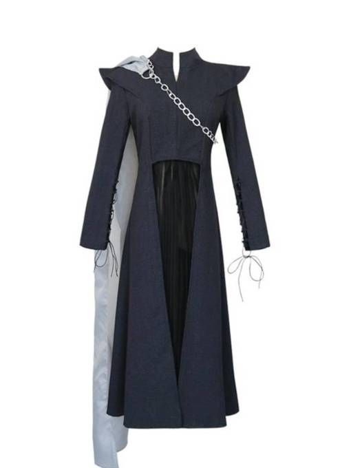 Suit for Game of Thrones VII Daenerys Targaryen Cosplay with Cloak