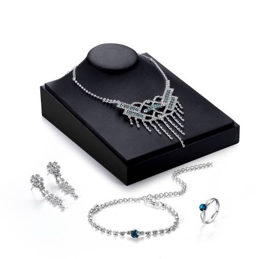 Sparkling Tassel Four-Piece Jewelry Sets