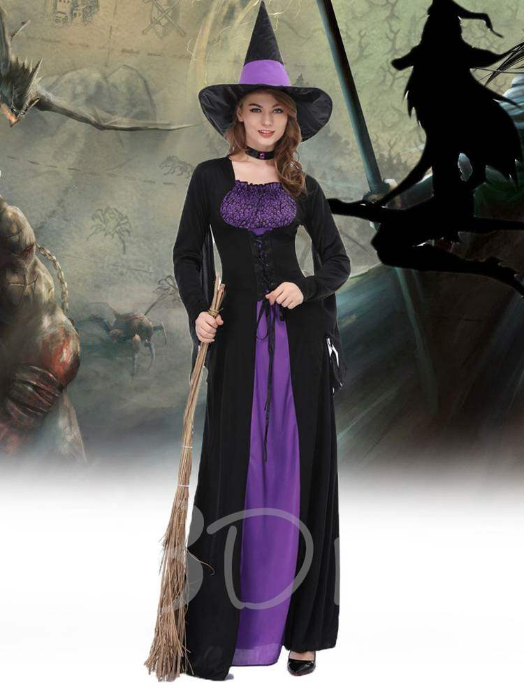 Western Witch Cloak Halloween Costume