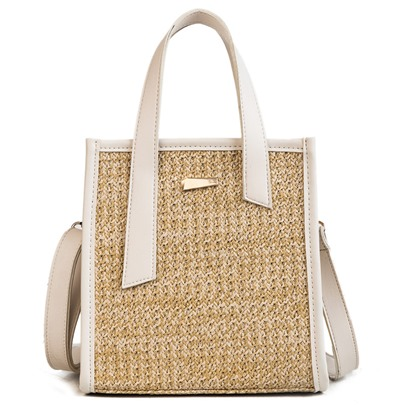 Elegant Holiday Knitted Plain Tote Bag