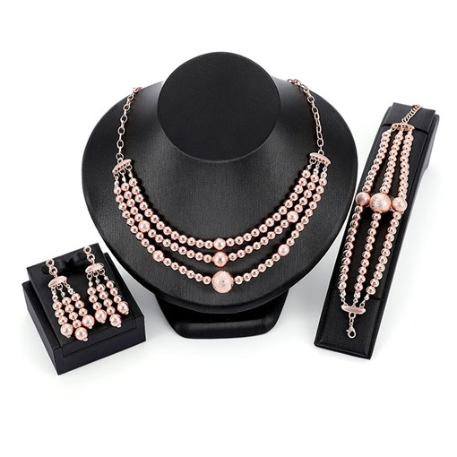 Vintage Multilayer Beads Jewelry Sets