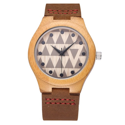 Simple Wood Dial Creative Watches