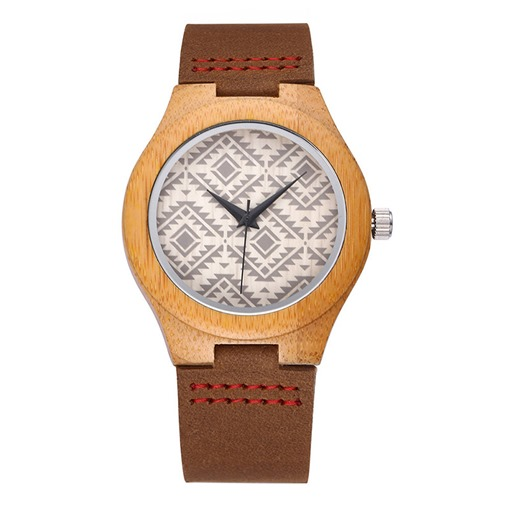 Natural Wood Dial Quartz Watches