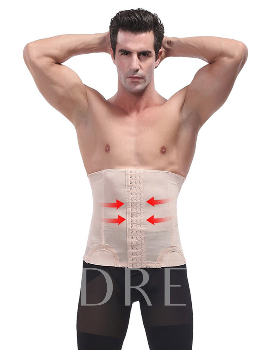 Men's Thin Abdomen Trimmer Waist Cincher Shapewear
