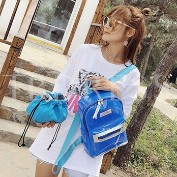 Summer Colorful PVC Backpack