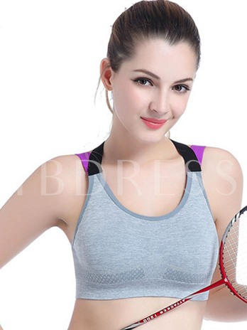 No Rims Yoga Large Size Shockproof Sports Bra