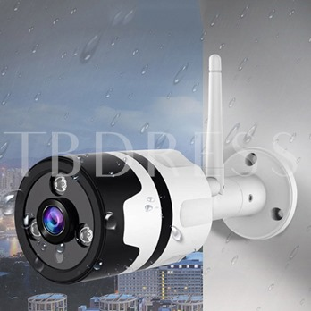 Wireless Remote Monitor Network Camera 360 Degree Panoramic Outdoor Waterproof 960P