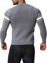 V-Neck Single-Breasted Cardigan Men's Knitwear