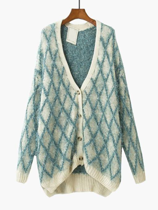 Open Front Single-Breasted Women's Cardigan