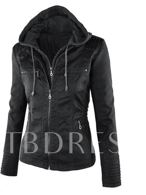 Long Sleeve Thick Slim Standard Women's Jacket