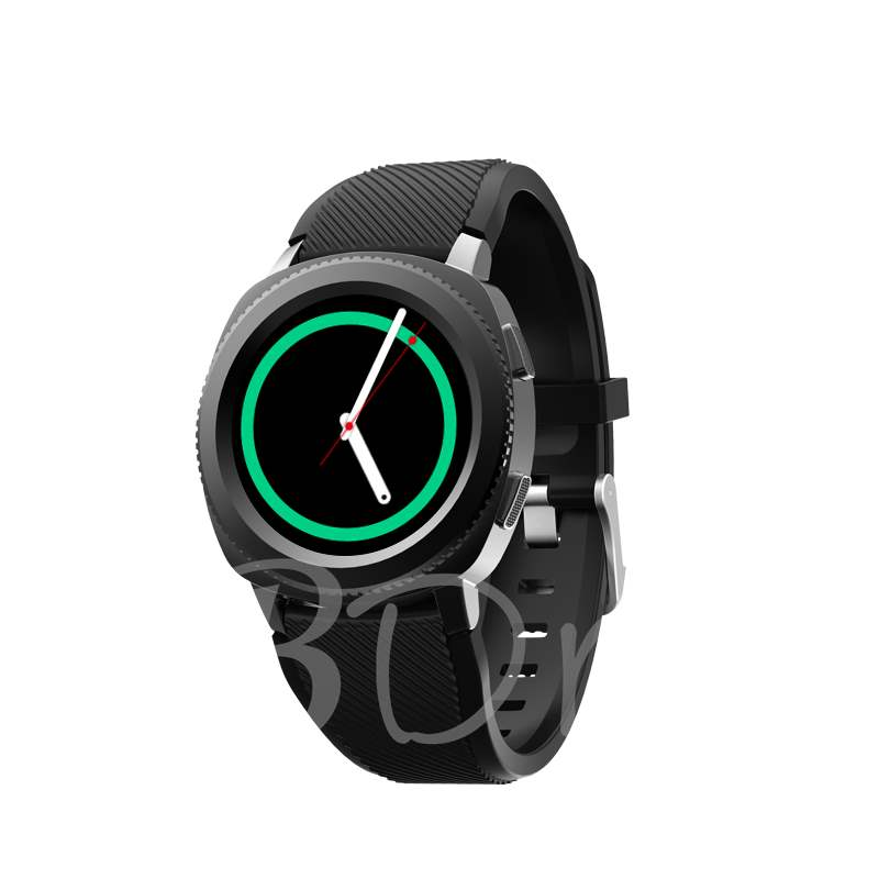 Newest Fashion Smart Watch Phone Waterproof Sports Running Milanese Mesh Strap & Silicone Strap