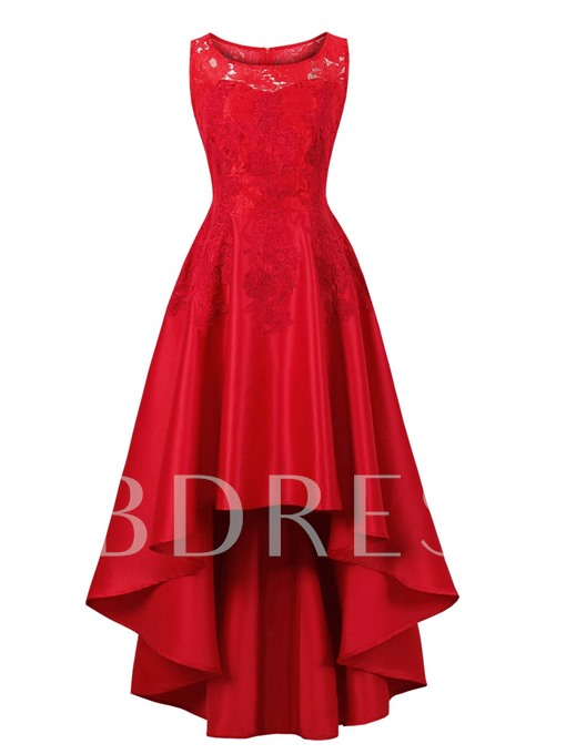 Scoop Neck A Line Homecoming Dress