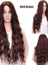 Long Wavy Synthetic Hair Capless Women Wig 26Inches