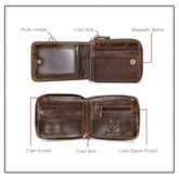 Men's Leather Organizer Wallet