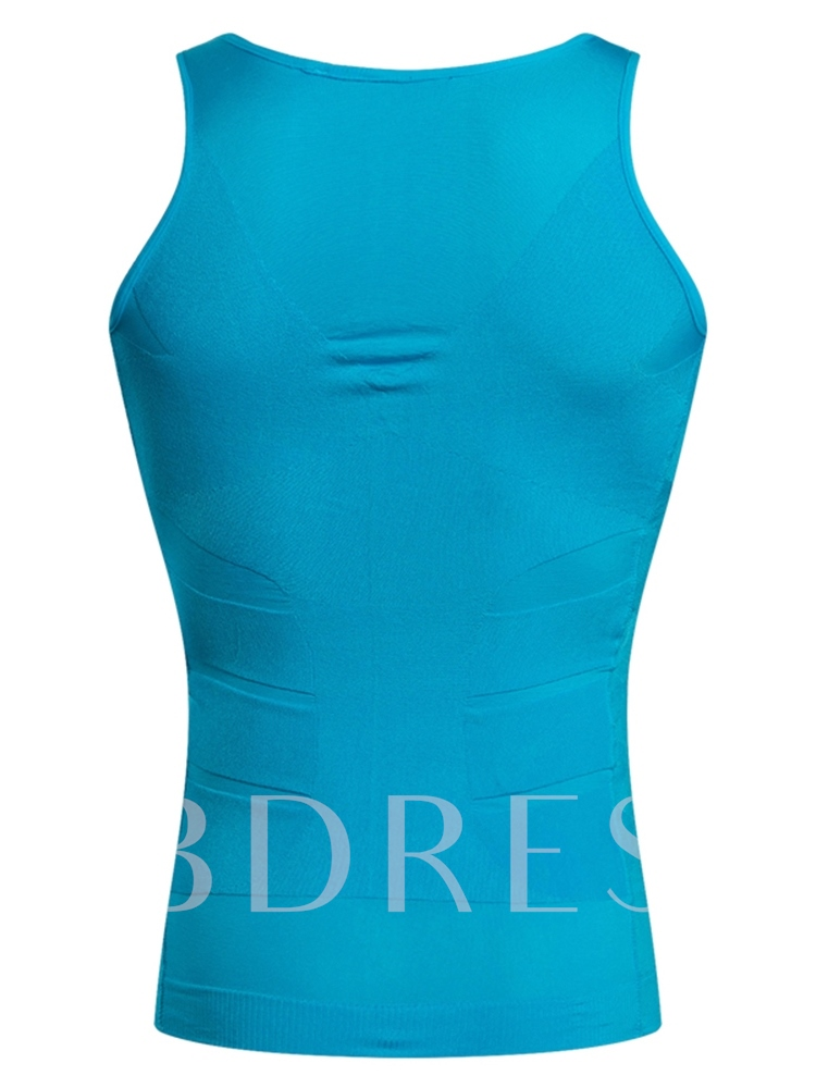 Breathable Body Shaping Sports Vest Top Bustier for Men