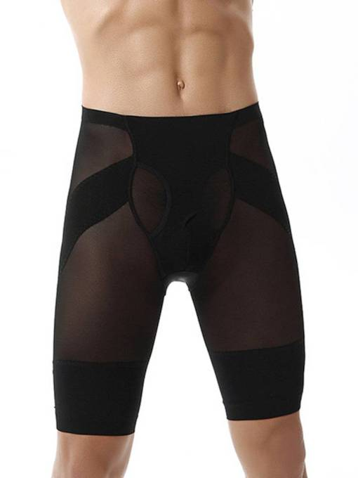 Men's Breathable Body Shaping Knee Length Control Pant
