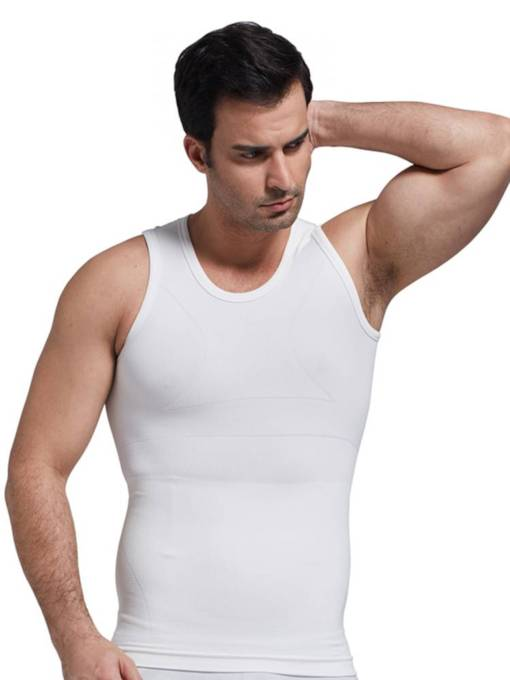 Anti-Sweat Breathable Body Shaping Sports Vest Top for Men