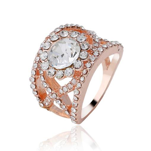 Bling Bling Crystal Inlaid Ring