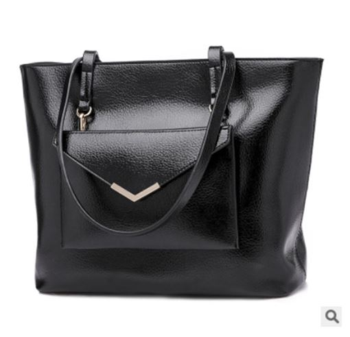 Contracted Distinctive PU Shoulder Bag Set