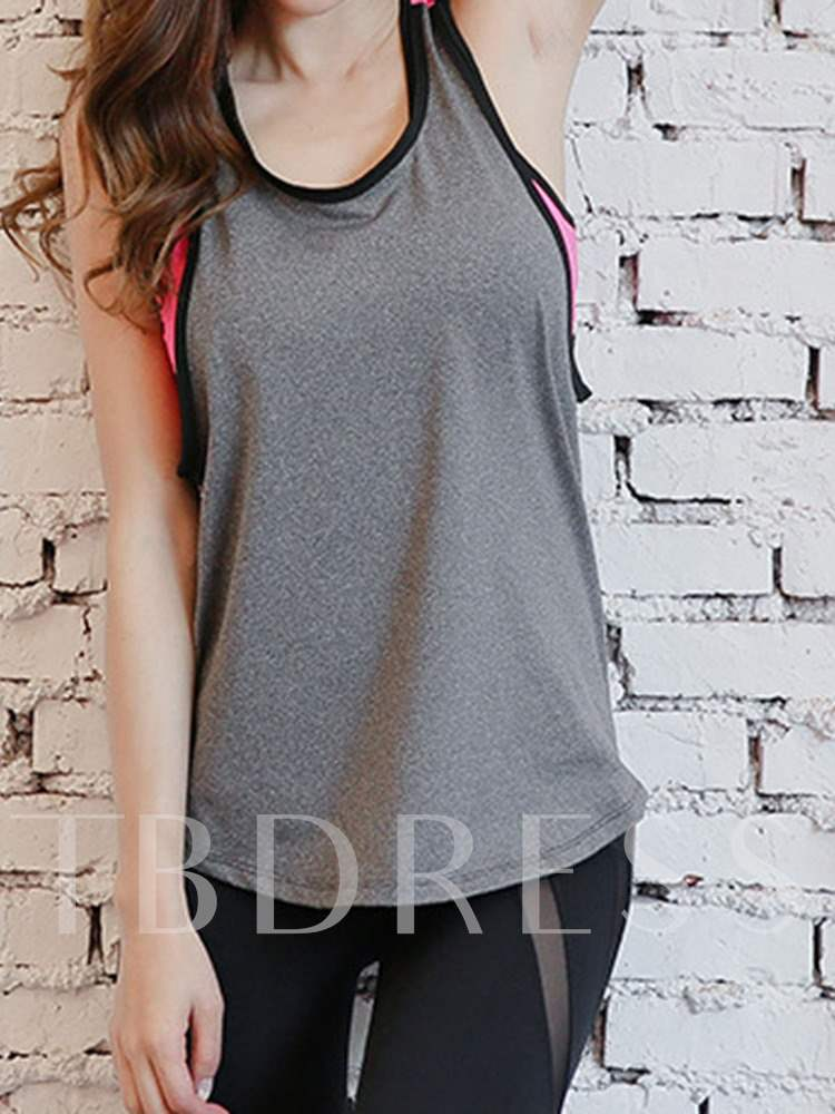 PU Coating Color Block Quick Dry Women's Tees