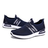 Slip On Sneakers Mesh Breathable Men's Casual Shoes