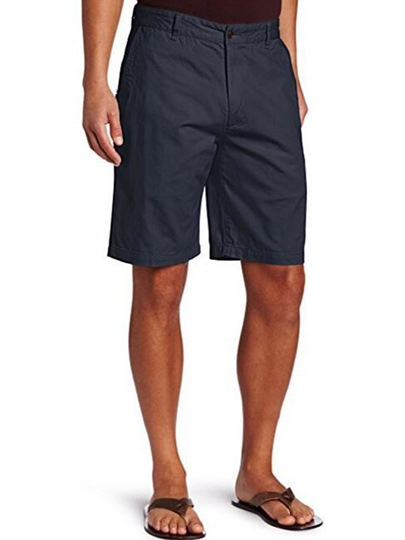 Loose Solid Color Leisure Men's Short Pants