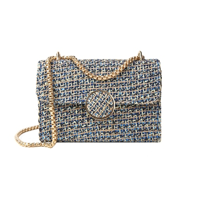 Contracted Magnetic Snap Chain Crossbody Bag
