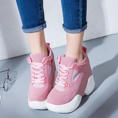 Mesh Breathe Lace-Up Casual Sneaker for Women
