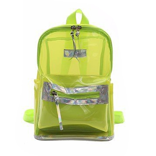 Summer Brief Korean Style Clear Backpack