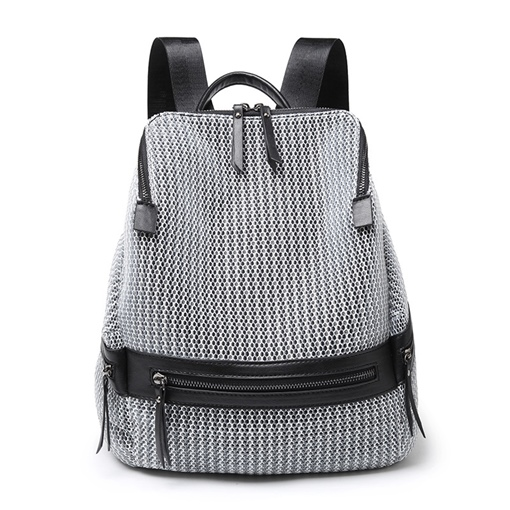 Brief Korean Style Nylon Soft Backpack
