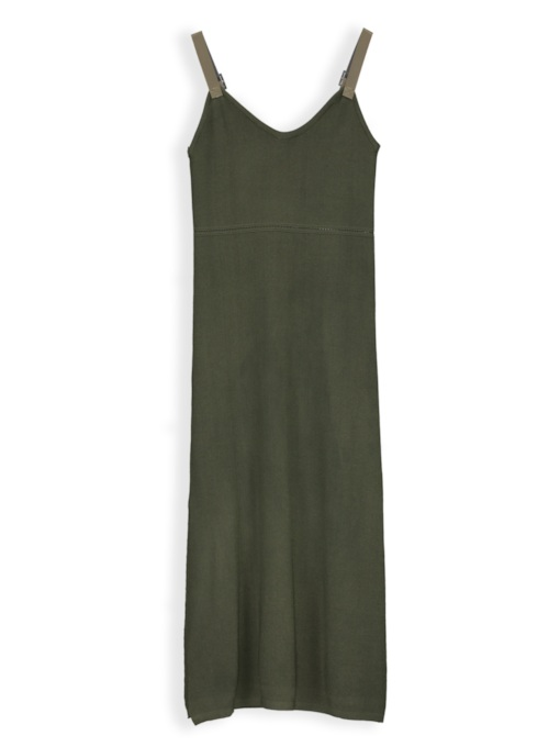 Suspenders Above Knee Pullover Sheath Dress