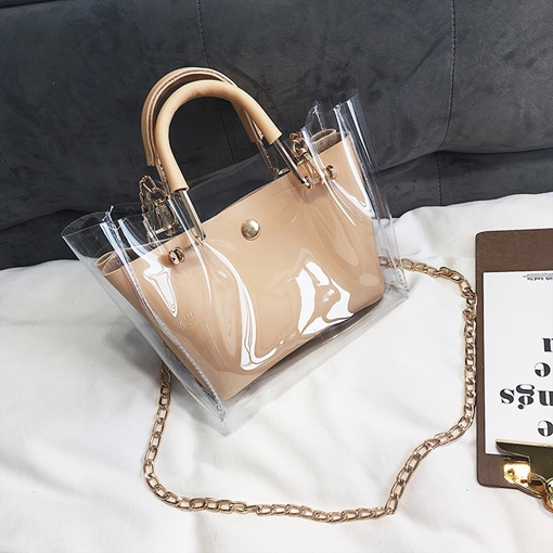 Summer Vacation New Stylish Transparent Bag