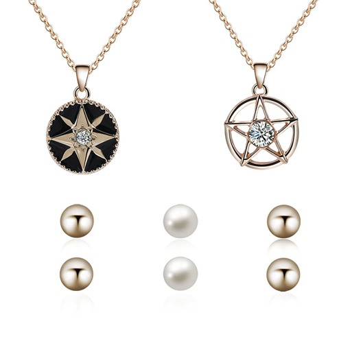 Star&Sun Various Combinations Jewelry Sets