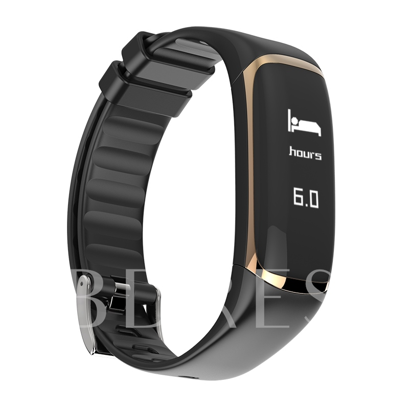 P9 Smart Bracelet Blood Oxygen Heart Rate Movement IP67 Waterproof