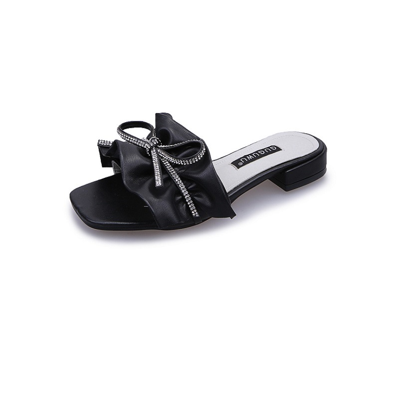 Summer Slip-On Bow Flip Flop for Women