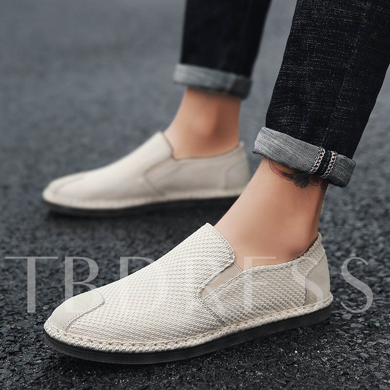 Cloth Shoes Light Cause loafers for Men