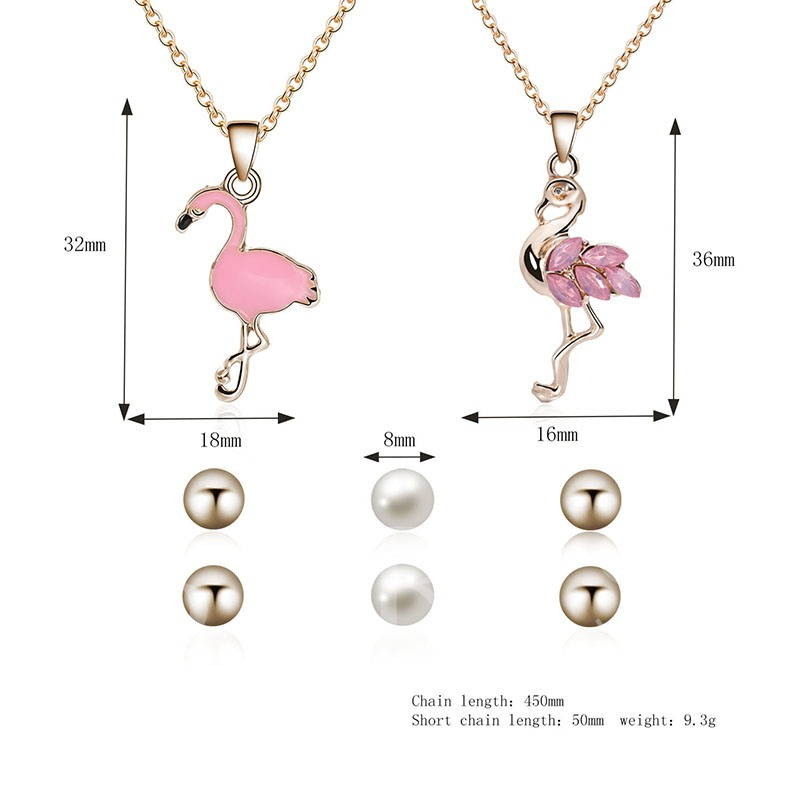 Flamingo Diamante Various Combinations Jewelry Sets