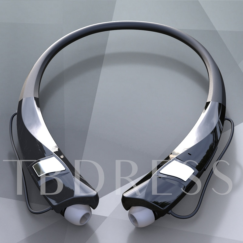 Neck-mounted Wireless Bluetooth Headset TPE Comfort Neck Hanging