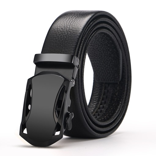 Smooth Automatic Buckle Men's Belts