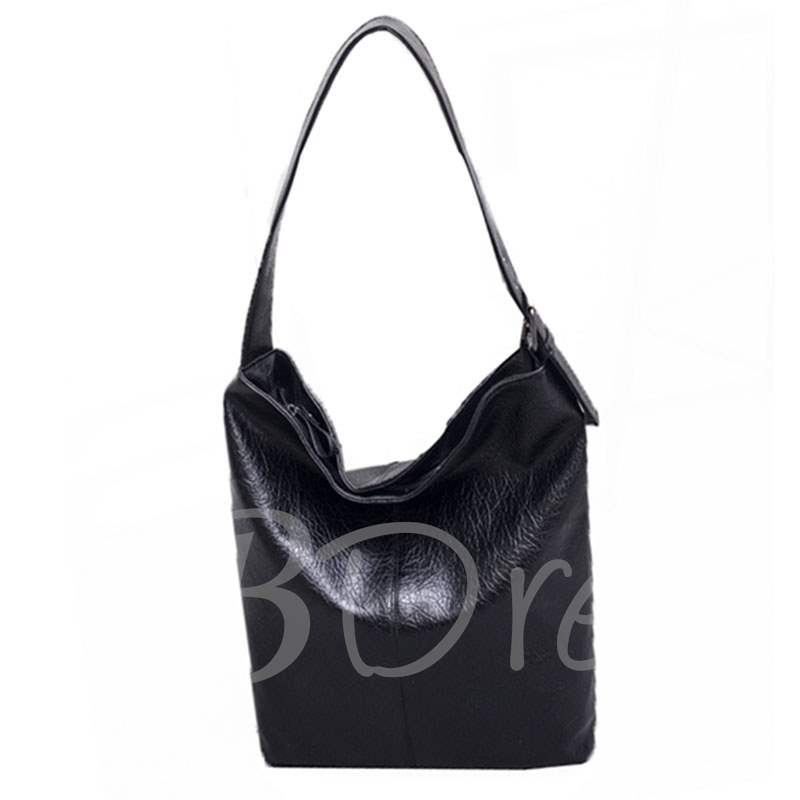 Casual Barrel Shaped Zipper Women Shoulder Bag