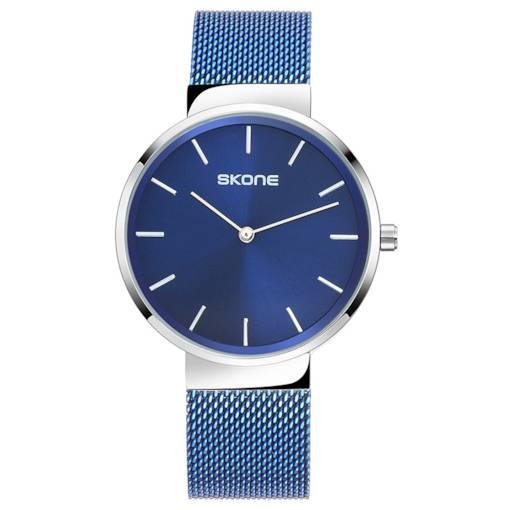 Concise Analogue Display Stainless Steel Men's Watch