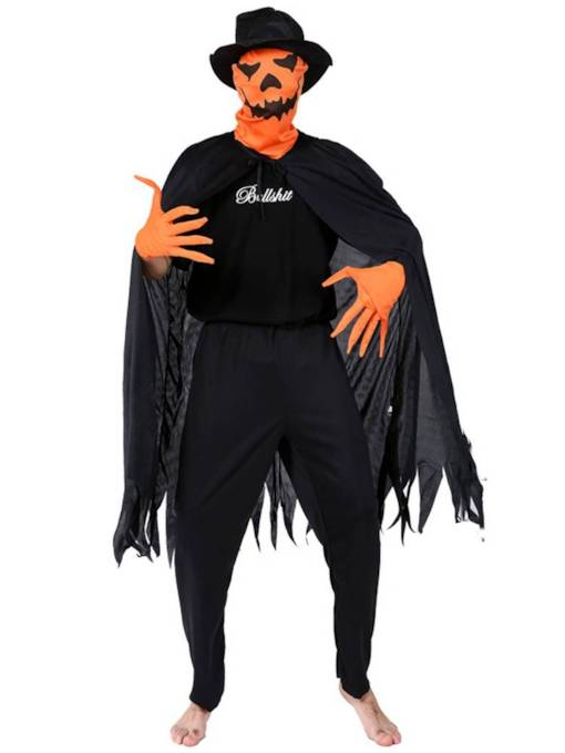 Adult Pumpkin Monster Halloween Costume