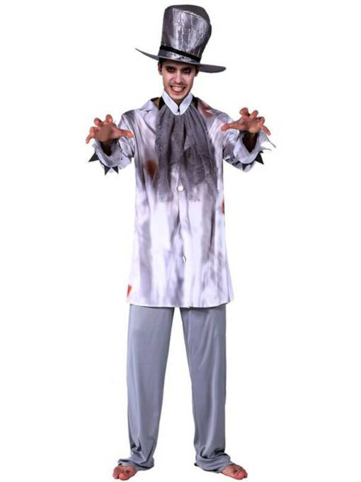 Gentleman Ghost Groom Halloween Costume