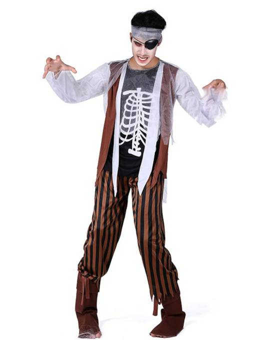 Pirate Zombie Halloween Costume