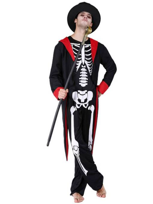 Skull Ghost Groom Halloween Costume